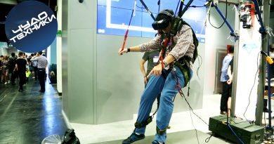 VR-симулятор парашюта на Gamescom 2016