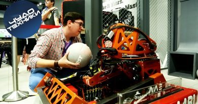 Робот-баскетболист на Gamescom 2016