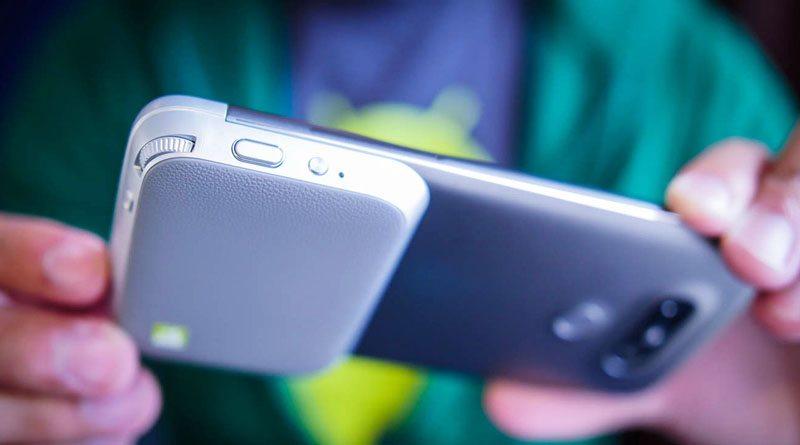 Обзор модульного смартфона LG G5 | фото: androidauthority.net