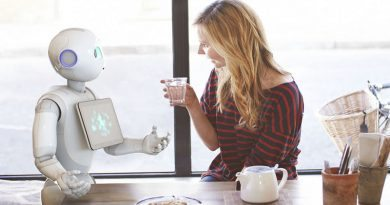Обзор человекоподобного робота Pepper | фото: tctechcrunch2011.files.wordpress.com
