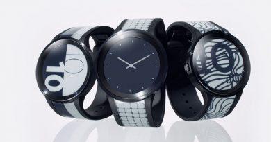 Обзор умных гибких часов Sony FES Watch U   источник: first-flight.sony.com