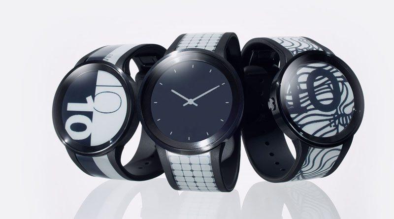 Обзор умных гибких часов Sony FES Watch U | источник: first-flight.sony.com