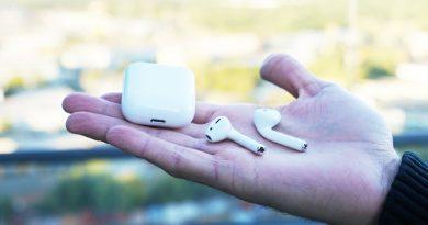 Обзор наушников Apple AirPods