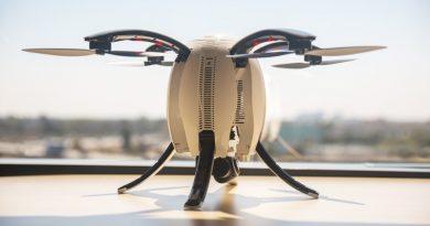 Дрон-яйцо Poweregg | Источник фото: dronepunks.com