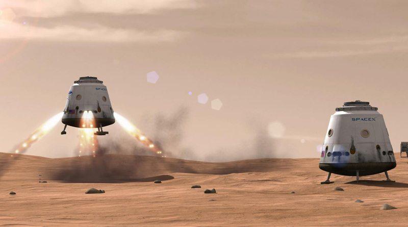 Элон Макс отправит на Марс роботов