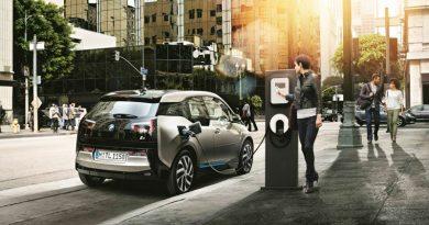 Зарядная станция для электрокаров и BMW i3