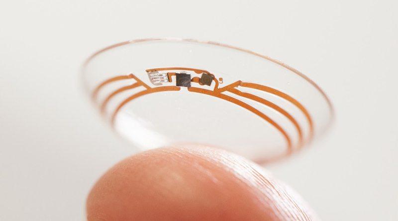 Умные контактные линзы Google и Novartis