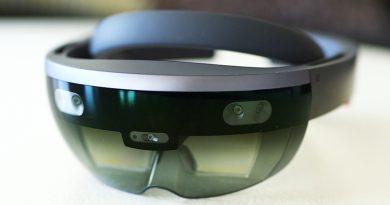 Обзор очков Microsoft HoloLens | фото: engadget.com