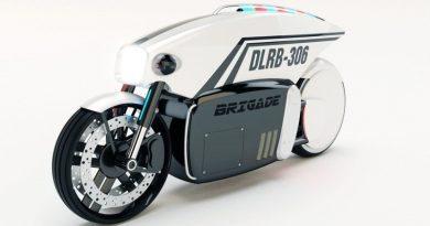 Мотоцикл с автопилотом Brigade