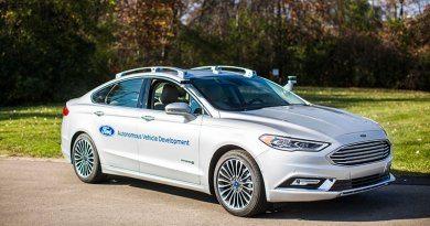 Беспилотный Ford Fusion