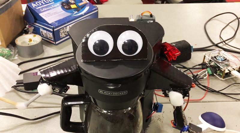 Говорящая кофемашина Alexa