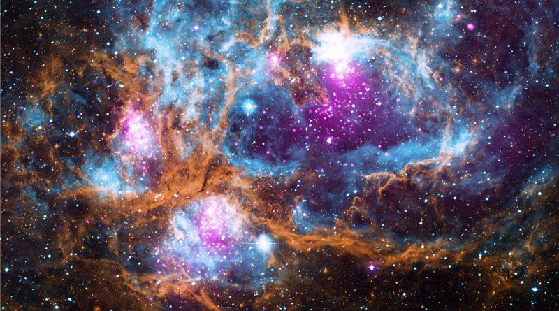 NGC 6357 Космическая страна чудес