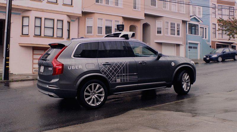 Uber Volvo беспилотник