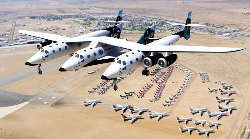 Virgin Galactic VSS Unity | фото: jeffrutan.com