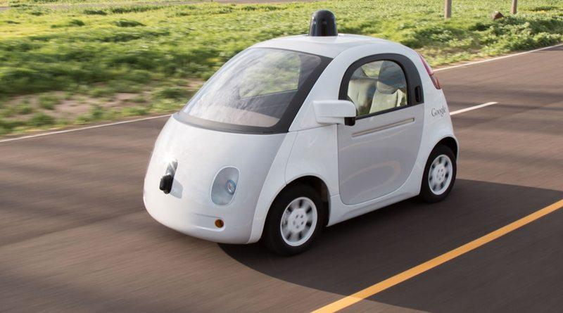 Самоуправляемая машина Google | фото: