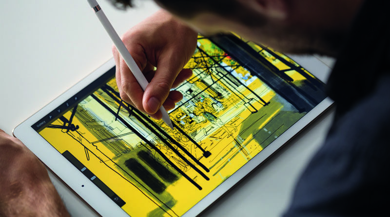 Apple iPad Pro 12.9 и Apple Pencil