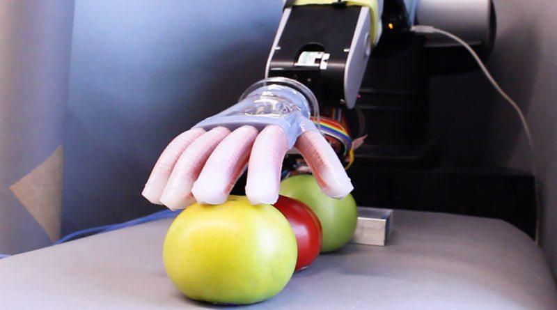Робот Gentle Bot с нежной рукой