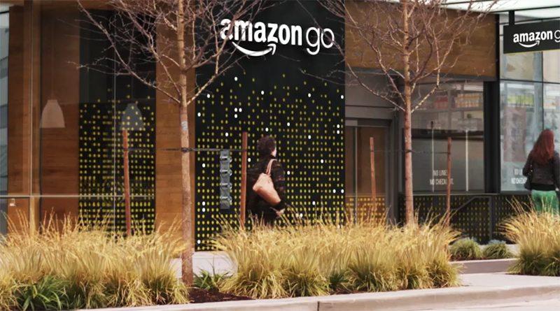 Магазин без касс Amazon Go