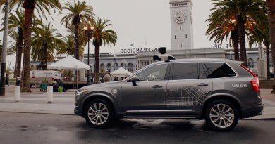 Беспилотное такси Volvo Uber