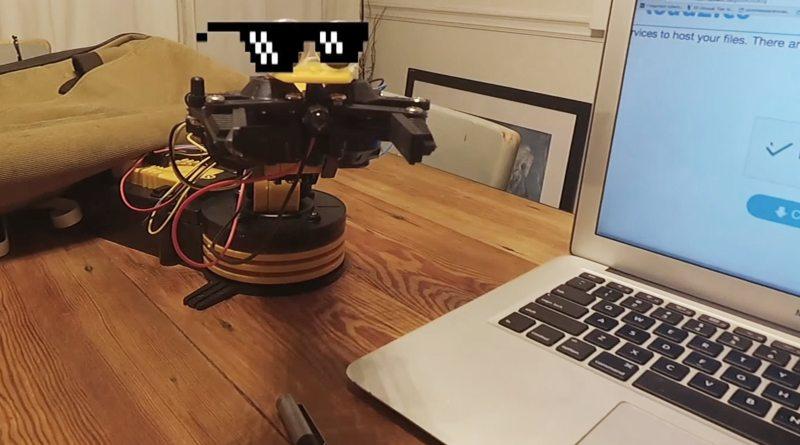 """Робот прошел проверку """"Докажите, что вы не робот"""""""