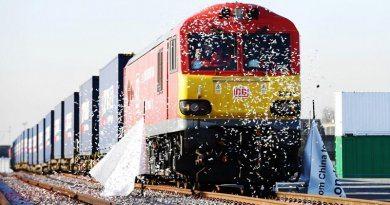 В Лондон приехал поезд из Китая | фото: standard.co.uk