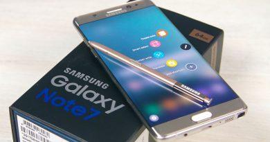 Samsung вернет Galaxy Note 7 в продажу