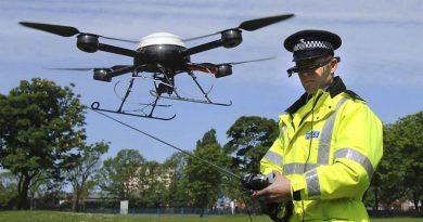 Полиция создает отдряд дронов для патруля