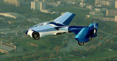 Летающий автомобиль появится в 2020 году