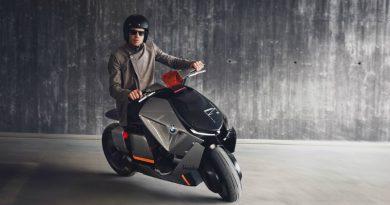 BMW показала экологический скутер будущего