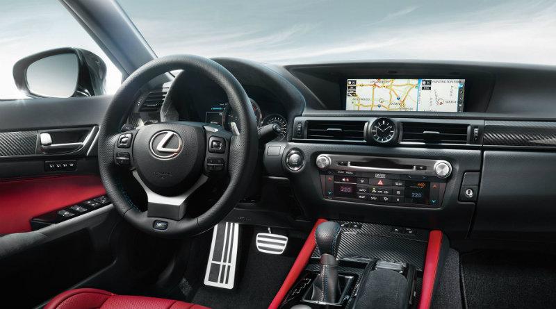 Салон Lexus GS F