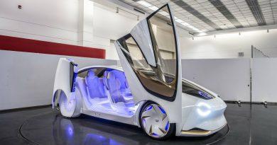 Toyota сделает передние стойки прозрачными