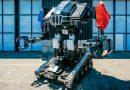 Видео: бой огромных пилотируемых роботов