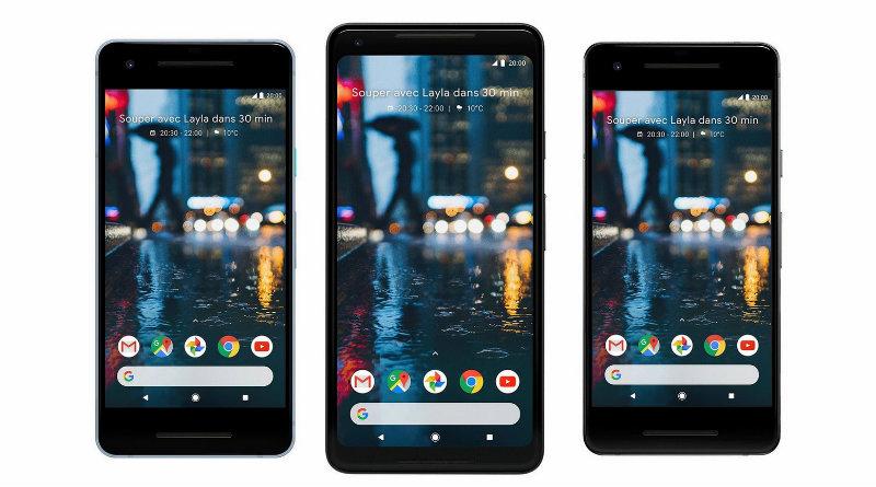 Google Pixel 2 и Pixel 2 XL | Фото: Google