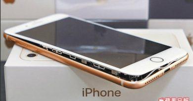 здувшаяся батарея iPhone 8 Plus | Фото: diepresse.com