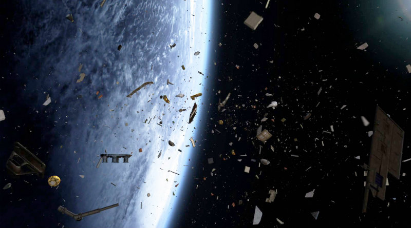 Мусор на орбите | Фото: themarsicanbear.com