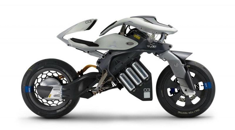 Yamaha Motoroid | Фото: bikepost.ru
