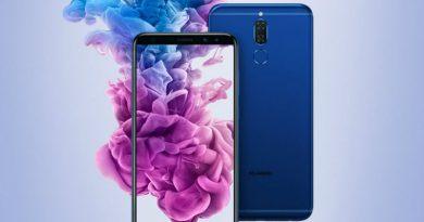 В Huawei Mate 10 Lite встроили 4 камеры