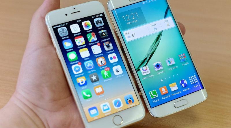 iPhone 8 и Samsung   Фото: iphoneforums.net