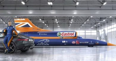 Bloodhound SSC | Фото: carthrottle.com