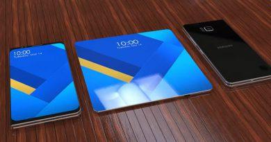 концепт Samsung Galaxy X | Фото: ibtimes.co.uk
