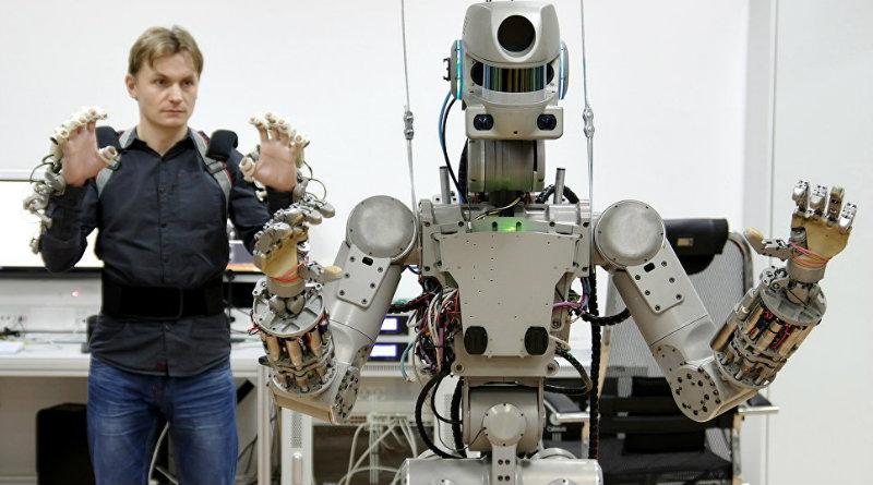 Робот Федор | Фото: ria.ru