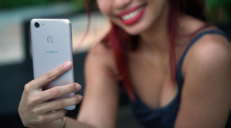 Oppo F5 | Фото: gadgetmatch.com