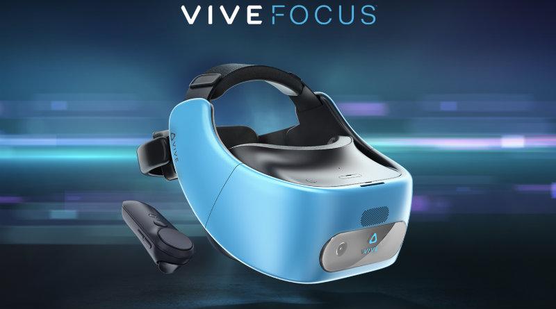 HTC Vive Focus | Фото: theverge.com