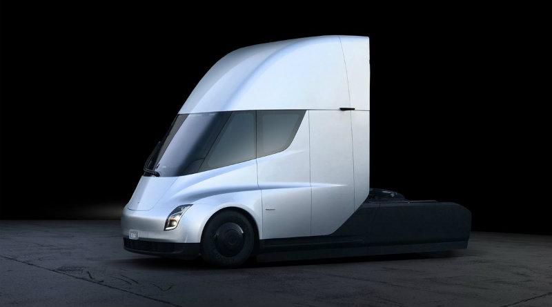 Tesla грузовик | Фото: Tesla