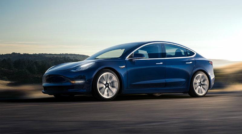 Tesla Model 3 | Фото: Tesla