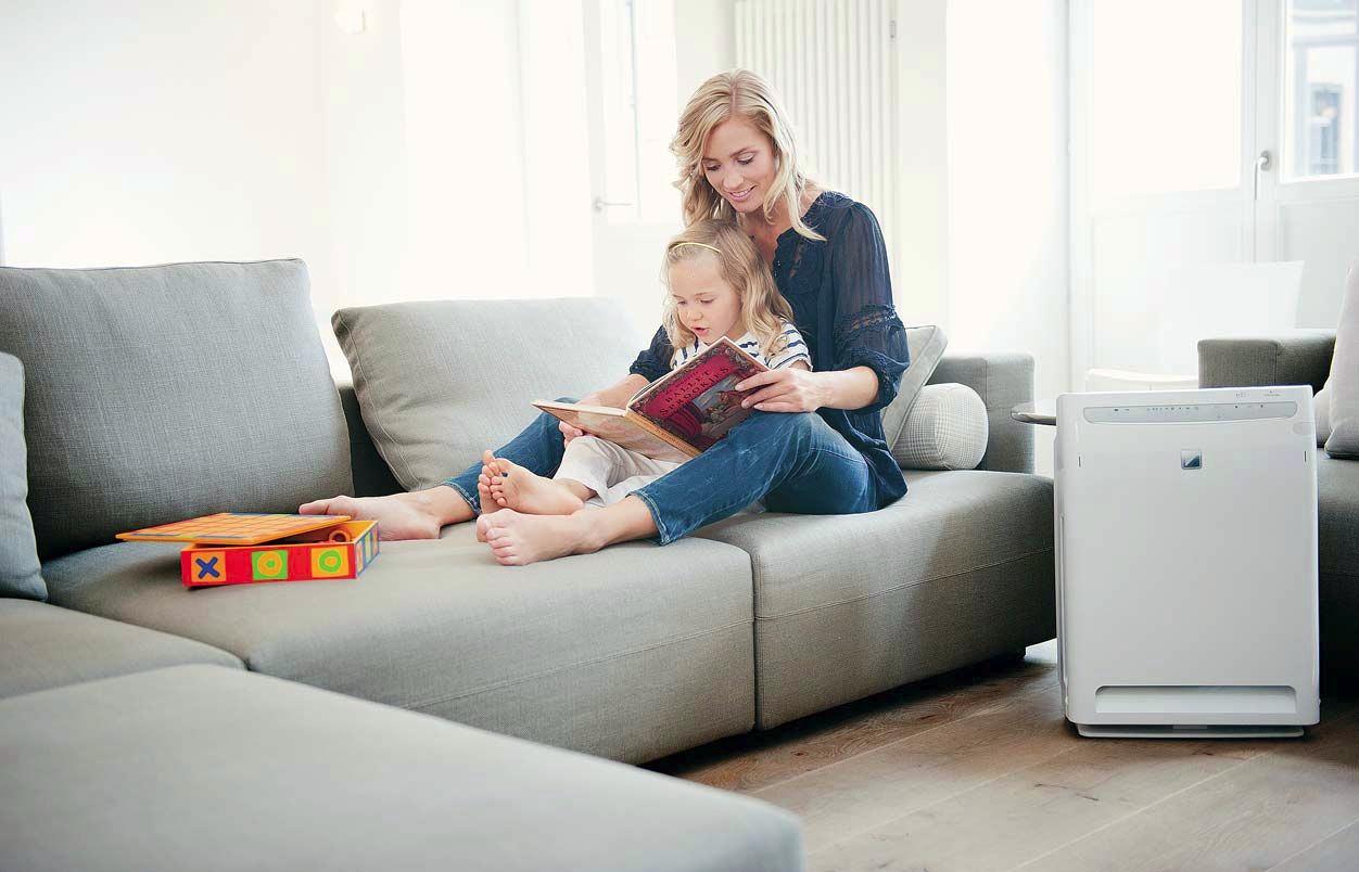 Как очистить воздух в квартире от микробов