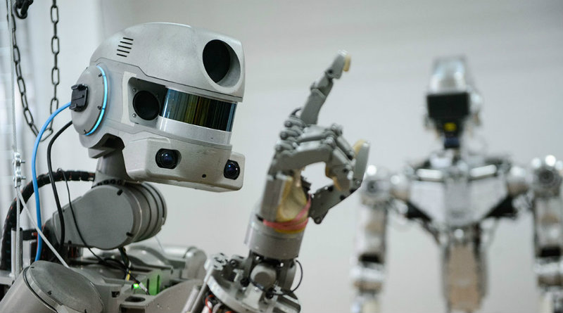 Робот Федор | Фото: ntv.ru