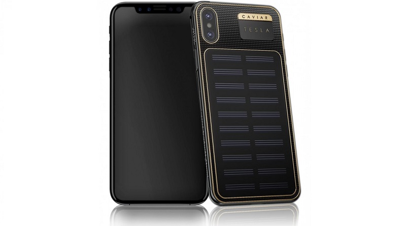 iPhone X Tesla | Фото: gsmarena