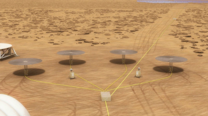 Реакторы на Марсе | Фото: НАСА