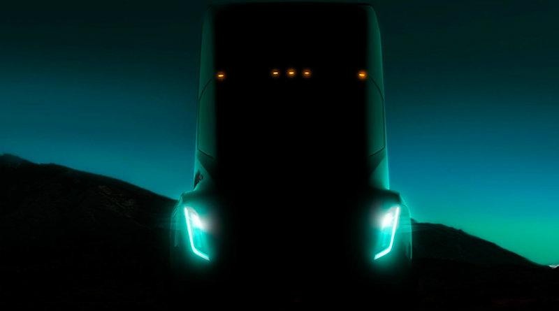 Грузовик Tesla | Фото: motor.ru